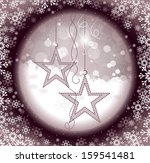 christmas background. abstract... | Shutterstock .eps vector #159541481