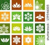 flower icons | Shutterstock .eps vector #159546005
