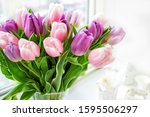 Beautiful Bouquet Of Pink And...