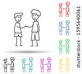 friendship of boys multi color...