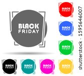 black friday poster stiker...