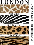 london new york berlin tokyo... | Shutterstock . vector #1595686534