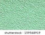 green decorative plaster coat - stock photo