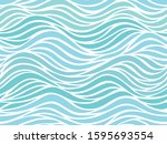Seamless Abstract Blue And...