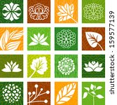 nature icons | Shutterstock .eps vector #159577139