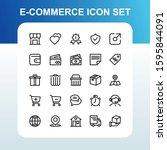 e commerce online shopping with ... | Shutterstock .eps vector #1595844091