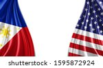 Philippines And American Flag...