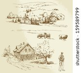 Rural Landscape  Farming   Han...