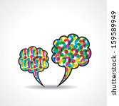 message bubble with question...   Shutterstock .eps vector #159589949