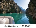 the river verdon on the average ...   Shutterstock . vector #15959461