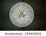contemporary glass chandelier | Shutterstock . vector #159603341