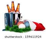 Beer And Christmas Decor...