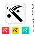 magic wand icon. vector... | Shutterstock .eps vector #159625619