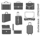 bag icons   Shutterstock .eps vector #159633449