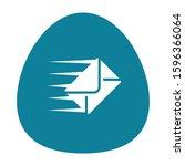 envelope icon logo design...