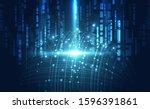 vector digital global... | Shutterstock .eps vector #1596391861