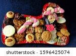 Colourful Platter Of Festive...