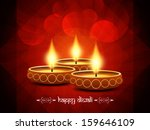 shining red color religious... | Shutterstock .eps vector #159646109