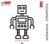 robot icon vector . best modern ...