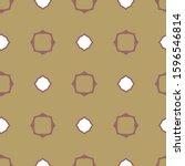 geometric ornamental vector... | Shutterstock .eps vector #1596546814