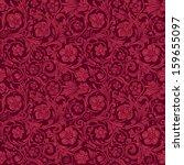 vintage classic ornamental... | Shutterstock .eps vector #159655097