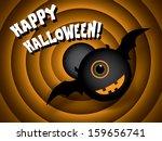 Halloween Card Vintage Movie...