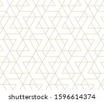 pattern with thin straight... | Shutterstock .eps vector #1596614374