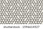 seamless pattern with... | Shutterstock .eps vector #1596614527