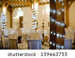 beautiful event decoration for... | Shutterstock . vector #159663755