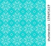 knitted stars sweater. seamless ...   Shutterstock .eps vector #159691619