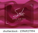 advertising sale poster design...   Shutterstock .eps vector #1596927994