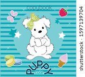 Puppy Cute Copybook With...
