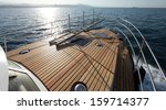 Seascape Boat On The High Seas...