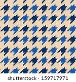 houndstooth pattern | Shutterstock .eps vector #159717971