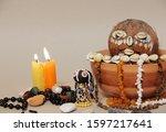 Occult Altar For African Gods....