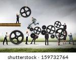 conceptual image of... | Shutterstock . vector #159732764