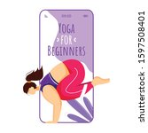 yoga for beginners smartphone...