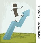 business concepts  growth. a... | Shutterstock .eps vector #159756647