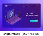 2 step authentication concept....