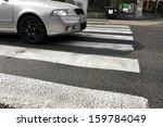 Pedestrian Crossing In Town ...