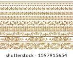 set of vintage design elements | Shutterstock . vector #1597915654