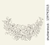 design for wine list. ... | Shutterstock . vector #159792515