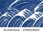 grunge texture. distress indigo ...   Shutterstock .eps vector #1598028694