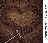 love of nature.  heart shaped...   Shutterstock . vector #159803525