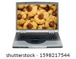 Laptop Computer. Peanut Butter...