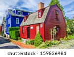 Historic Colourful Wooden Hous...