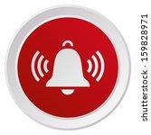 ringing bell  grx btn metallic  ... | Shutterstock .eps vector #159828971
