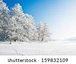 winter park in snow | Shutterstock . vector #159832109