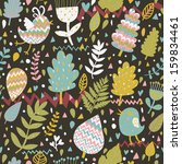 stylish seamless pattern with...   Shutterstock .eps vector #159834461