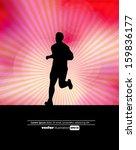 sport background. vector | Shutterstock .eps vector #159836177